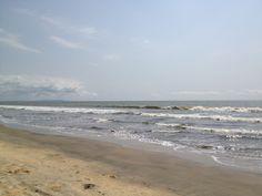 The Atlantic coast near Futila, Cabinda Angola