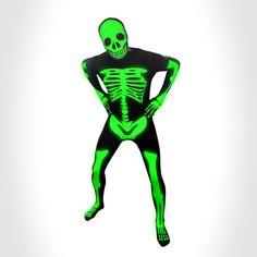 glow skeleton Morph Suits