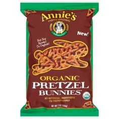 Annie's Homegrown Organic Pretzel Bunnies
