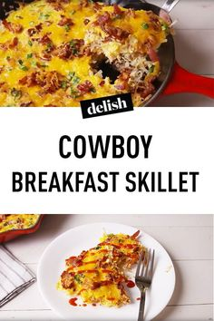This Cowboy Breakfast Skillet Will Teach Your Breakfast A New Trick