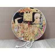 Klimt mintás falióra Klimt, Hobbit, Feng Shui, Decorative Plates, Tableware, Home Decor, Dinnerware, Decoration Home, Room Decor