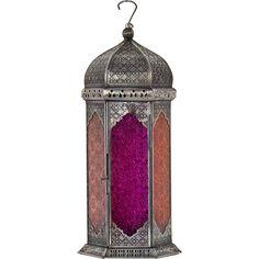 Purple Moroccan Candle Lantern - TK Maxx