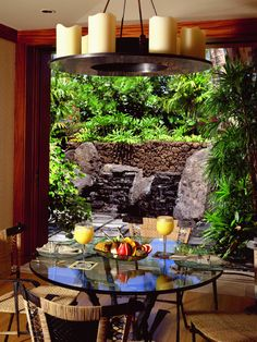 Tropical Dining Room Pictures Of Dream Homes Design, Pictures, Remodel, Decor and Ideas