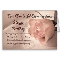 Happy birthday to my sister in law 381874 birthday cards turning 60 happy birthday to a sister in law google search bookmarktalkfo Image collections