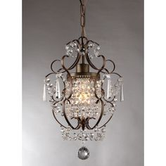 This modern bronze chandelier will surely suit in your home. With its sturdy quality, versatile design and awesome features, you will never go wrong with this light fixture.