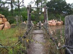 Abandoned River Country in the Walt Disney World Resort in Florida.