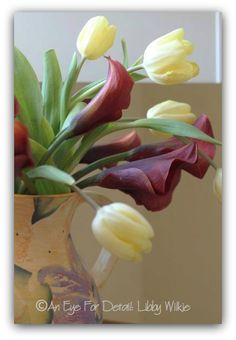 FRIDAY FLOWERS: CALLA LILIES and TULIPS