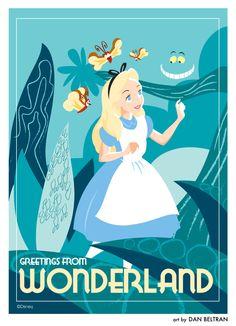 Greeting From Wonderland - Alice in Wonderland
