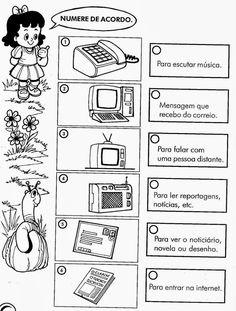 Educação informatizada *****: HISTÓRIA 1ºANO/ATIVIDADES/IMPRIMIR