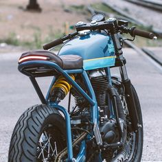 @federalmoto's latest build. Royal Enfield