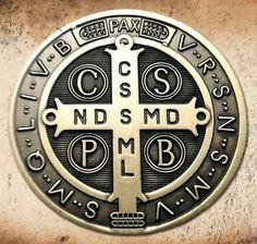 The Medal of Saint Benedict has long been used as a means of fostering religious devotion. The medal is intended as a means of reminding us of God Catholic Tattoos, Christ Tattoo, Religion, Knights Templar, Tatoos, Saints, Prayers, Novenas, Tattoo Studio