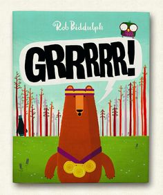 """So here it is, the cover to my 2nd book """"GRRRRR!"""" (with five 'R's). What do you think? @HarperCollinsCh"""