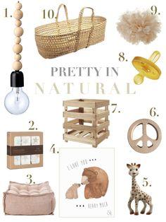 Neutral Nursery, Kids Room, Inspiration, Mood Board MOM4MOM - Pretty in Neutral Series