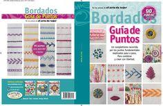 Guía de Puntos de Bordado por los autores del arte de tejer bordado, creaciones de Ale Pane.