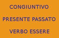 SCRIVERE 10 FRASI CON IL CONGIUNTIVO PRESENTE E PASSATO DEL VERBO ESSERE
