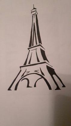 Paris Tower, Paris, Drawings, Montmartre Paris, Lathe, Towers, Paris France, Sketch, Portrait