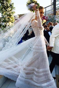 Ana Beatriz Barros se casa com Karim El Chiaty em Mykonos