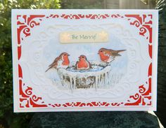 made by Jane Middleton using  Spellbinders Nestabilities Card Creator: 5x7 Elegant Labels Four (S6-005)