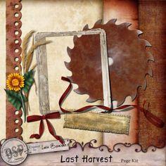 Last Harvest Page Kit [DL-LS-K-LastHarvest]