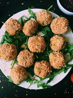 Simple potato and carrot balls covered in peanut crust. Baked in the oven and served with a dash of ketchup. Great daily snack.