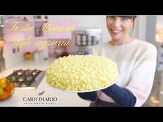 SOFFICISSIMA TORTA MIMOSA AL PROFUMO DI AGRUMI - YouTube Chiffon Cake, Vanilla Cake, Sweet Treats, Bread, Cookies, Breakfast, Desserts, Recipes, Youtube