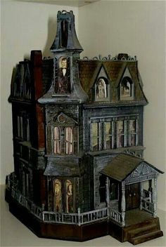 Addams family doll house