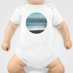 Longing to the Ocean I Onesie by Pia Schneider [atelier COLOUR-VISION] - $20.00. #photography #typography #ocean #impressionism #abstract #beach #nature #landscape #crete #cretansea #mediteran #society6 #artprint #onesie #kids #baby #parents #cool #clothes #men #women #cotton #unisex #fashion