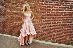 mullet dress for prom by briday brick row