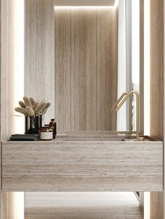 Restroom Design, Bathroom Interior Design, Gold Accent Decor, Sophisticated Bedroom, Modern Wall Sconces, Fireplace Design, Beautiful Bathrooms, Bathroom Inspiration, Interior Architecture