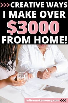 Are you looking for ways to make $300 a month? Here are 6 things I do to make 3000 per month from home effortlessly #make3000 #workfromhome #makemoneyonline Make Money Today, Make Easy Money, Make Money Blogging, Make Money From Home, Make Money Online, Earn Extra Cash, Making Extra Cash, Extra Money, Work From Home Tips