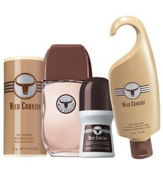 Wild Country 4-Piece Fragrance Collection for Him Item # 500-896 / Price: $9.99  Lively bergamot, coriander and fresh, aromatic tones. Order for your wonderful man tonight and get it next week: http://abagtas.avonrepresentative.com/