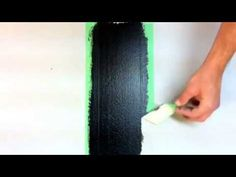 Masking Tape - Creative Painting Techniques - YouTube