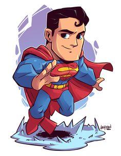 If you want more such chibi images of avengers and other Heros visit my board chibi Chibi Marvel, Marvel Dc Comics, Chibi Superhero, Superman Drawing, Batman Cartoon, Thor Marvel, Superman Comic, Batman Vs, Cartoons