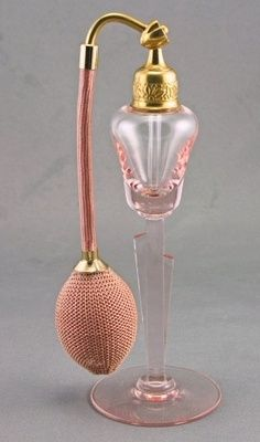 1931 DeVilbiss Atomizer - I love this bottle because it has two small bud vases attached to the stem.