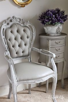 Lilyfield Life: How to Paint a Vinyl Chair