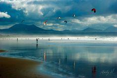 Kite Surf en la Playa de Famara, Lanzarote