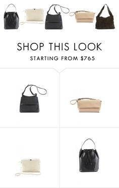 """5 The Row bags in SVMOSCOW"" by svmoscow ❤ liked on Polyvore featuring The Row"