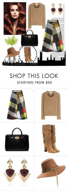 """""""Template Contest #1"""" by hastypudding ❤ liked on Polyvore featuring Nicki Minaj, Preen, Burberry, Mulberry, White House Black Market, Maison Michel, contest, template and fashionset"""