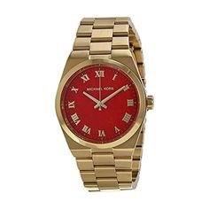 Michael Kors Watches : Michael Kors Womens Watch ** Check out the image by visiting the link. - Watches Topia - Watches: Best Lists, Trends & the Latest Styles Casual Watches, Rolex Watches, Wrist Watches, Stainless Steel Case, Michael Kors Watch, Gold Watch, Coral, Band, Accessories
