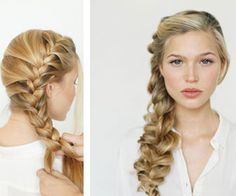 Click Pic for 7 Easy DIY Wedding Hairstyles - The Romantic Side Braid - How to do Hair Styles for Long Hair - Short Hair
