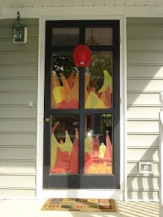 Cute idea for firefighter party!