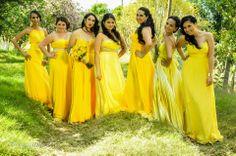 Damas de honor y amigas. Boda. Vestidos Amarillos Bridesmaids, Bridesmaid Dresses, Wedding Dresses, Ideas Para, Mini, Photography, Fashion, Yellow, Everything
