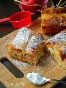 Dobra, stara pita sa jabukama, na malo drugačiji način. Zaliva se preostalim filom, koji kad se ispeče daje piti ekstra fini ukus, laga...