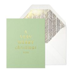 Very Merry Cards Set Of 6, $20, now featured on Fab.