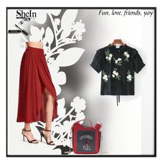 """""""Shein 61"""" by zerina913 ❤ liked on Polyvore featuring By Lassen, Élitis, Bobbi Brown Cosmetics and shein"""