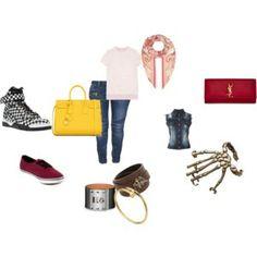 CASUAL My Style, Casual, Polyvore, Image, Fashion, Moda, Fashion Styles, Fashion Illustrations