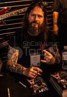 Gary Holt from Exodus/Slayer - NAMM Day 2 2014 - SoCalMusicToday.com
