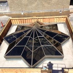 Solar Innovations offers a wide variety of skylight systems, including fixed, operable, and retractable skylights. Each skylight is created custom. Skylight Design, Roof Lantern, Architectural Elements, Innovation, Solar, Ceiling Lights, Architecture, Space, Centre