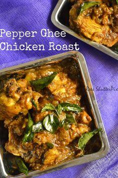 Pepper Ghee Chicken Roast
