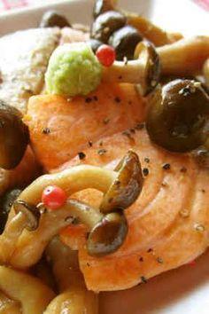 秋香る 鮭としめじのバターしょうゆの画像